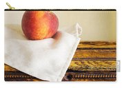 Peach Still Life Carry-all Pouch