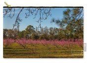 Peach Tree A Bloom Carry-all Pouch
