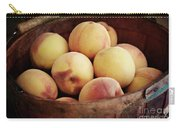 Peaches In A Basket Carry-all Pouch