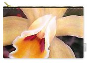 Peachy Cattleya Orchid Carry-all Pouch