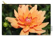 Peachy Petals Carry-all Pouch