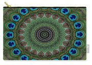 Peacock Abstract Carry-all Pouch
