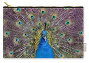 Peacock And Proud Plumage Carry-all Pouch