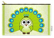 Peacock  - Birds - Art For Kids Carry-all Pouch