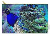 Peacock Bird Of Beauty Carry-all Pouch