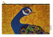 Peacock Blue Carry-all Pouch