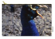 Peacock Caw Carry-all Pouch