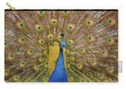 Peacock Courting Carry-all Pouch