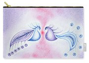 Peacock Dance Carry-all Pouch by Keiko Katsuta