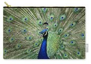 Peacock Display Carry-all Pouch