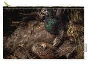 Peacock Family Gathering Carry-all Pouch