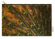Peacock Feathers 2 Carry-all Pouch