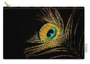Peacock Feathers 7 Carry-all Pouch