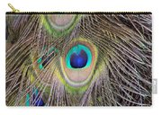 Peacock Feathers Carry-all Pouch