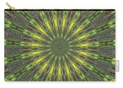 Peacock Feathers Kaleidoscope 5 Carry-all Pouch