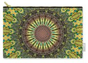 Peacock Feathers Kaleidoscope 7 Carry-all Pouch