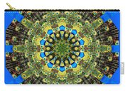 Peacock Feathers Kaleidoscope 9 Carry-all Pouch