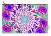 Peacock Flower Carry-all Pouch