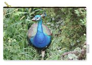 Peacock In The Brush Carry-all Pouch