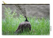 Peacock In The Grass Carry-all Pouch