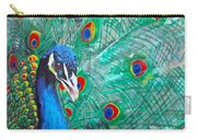 Peacock Love Carry-all Pouch