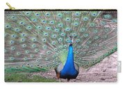 Peacock On Display Carry-all Pouch