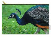 Peacock Portrait 5 Carry-all Pouch