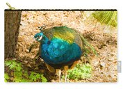 Peacock Pretty Carry-all Pouch
