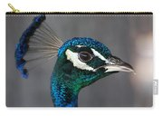 Peacock Profile Carry-all Pouch
