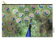 Peacock Smiles Carry-all Pouch