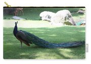 Peacock Strutting His Stuff Carry-all Pouch