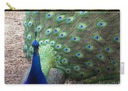 Peacock Up Close Carry-all Pouch
