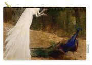 Peacocks Carry-all Pouch