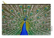Peafowl Peacock Carry-all Pouch