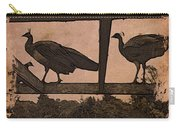 Peahens Carry-all Pouch