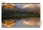 6m6530-a-peaks Reflected Touolumne Meadows  Carry-all Pouch