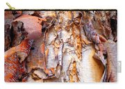 Pealing Bark Upclose Carry-all Pouch