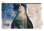 Pear In Blue Carry-all Pouch