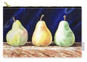 Pear Pear And A Pear Carry-all Pouch