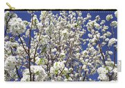 Pear Tree Blossoms In Spring Carry-all Pouch