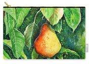 Pear Carry-all Pouch by Zaira Dzhaubaeva