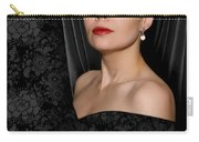 Pearl Earring Carry-all Pouch