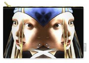 Pearl Earring Pearl Carry-all Pouch