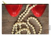 Pearls In Red Shoes Carry-all Pouch