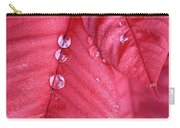 Pearls On Poinsettia Carry-all Pouch