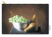 Pears And Grapes Carry-all Pouch