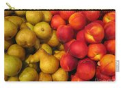 Pears And Peaches. Fresh Market Series Carry-all Pouch