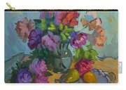 Pears And Roses Carry-all Pouch
