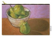 Pears In Bowl Carry-all Pouch