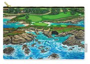 Pebble Beach 15th Hole-north Carry-all Pouch